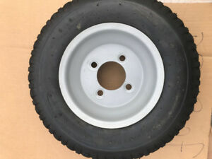 Trailer Wheels - Brand New on the rim - 4-bolt pattern