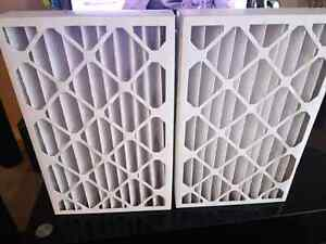 2 BRAND NEW AIR FILTERS FOR FURNACE!