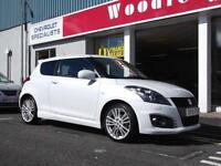 2015 SUZUKI SWIFT 1.6 SPORT +NAV,3 DOOR.,UPTO 5 YEARS 0% FINANCE AVAILABLE.