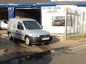 2007 1 owner silver Vauxhall combo 1.3 cdti 94k full history 12m mot px welcome
