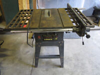 """Trademaster - 10"""" Table Saw - 18A Motor"""