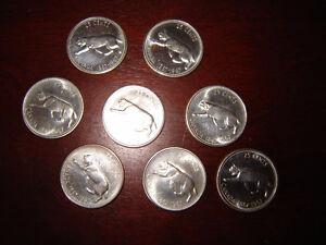 1967 Centennial silver quarters