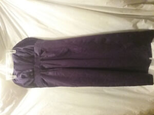 WORN 2CE Alfred Angelo (eggplant) bridal dress size 12