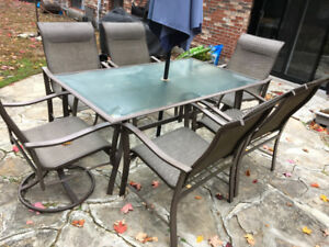 Outdoor Patio table with chairs