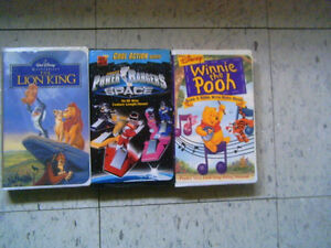 vhs kids movies Kitchener / Waterloo Kitchener Area image 1