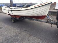 Boat trailer10-16ft boat rib