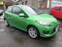Mazda 2 1.3 Tamura, 12 MONTHS MOT, SERVICED, WARRANTIED & AA (green) 2010