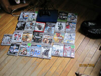 ps3 super slim with 23 games