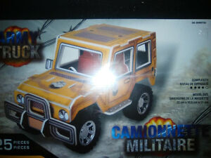 3D puzzle model ARMY TRUCK - BRAND NEW!