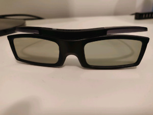 Samsung TV 3D glasses (4pairs at $30 each)