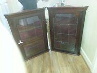 Mahogany Wall Cabinets