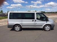 """FORD TRANSIT TOURNEO GLX 140BHP 2008 """"58"""" REG 40,000 MILES 9 SEATER 1 OWNER FROM NEW"""