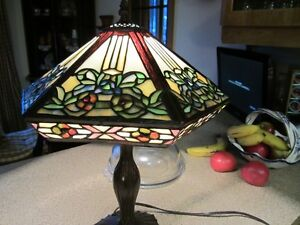 Beautiful  stained glass lamp West Island Greater Montréal image 3