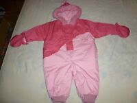 Teddy's Choice Winter Jacket for 18-month-old Baby Girl