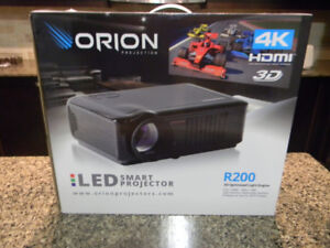 ORION LED R200 4K Picture Projector BRAND NEW WITH SCREEN