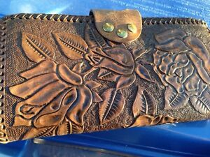 Ladies leather wallet personalized TL Gatineau Ottawa / Gatineau Area image 2