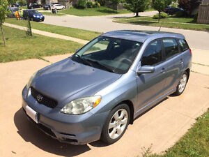 2004 Toyota Matrix XR  - extra 4 winters on rims!