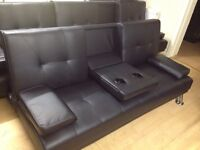 Cinema style sofa bed (new)