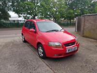 2005 Chevrolet Kalos 1.4, long MOT, FSH.