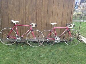 3 BIANCHIS  ROAD BIKES MADE IN ITALY 80'S