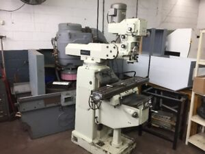 First milling machine, Model LC-195VS