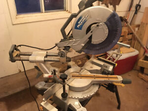 Mitre Saw and Stand.