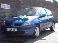 Renault Clio 1.6 16v (a/c) Dynamique 2005(54) 3 Door Hatchback