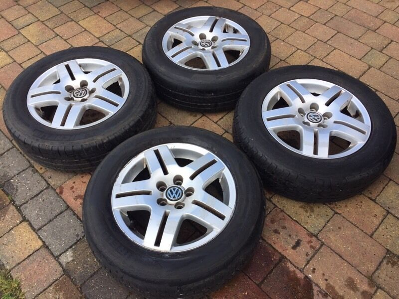 Vw Genuine Oem Golf Mk4 Avus Ii 15 Quot Alloy Wheels And Tyres