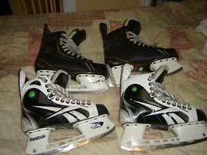 hockey equipement-patin-casque-culotte-epaulette-e++++++++