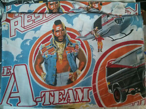 1983 Esmond A-Team Twin flat sheet $20