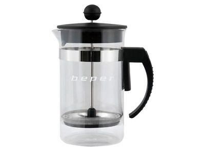 Infusiera Teiera Per Tisane Caffe' Te' The Infusi 600ML Filtro Caraffa Casa Cuci