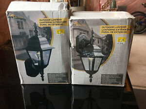 Outdoor Lamps Brand New