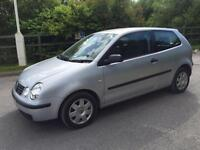 VOLKSWAGEN POLO 2005 1.4 MY TWIST 3DR PETROL - MANUAL - LOW MILEAGE - LONG MOT