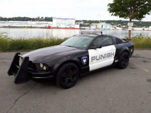 2005 Ford Mustang BARRICADE TRANSFORMER REPLICA with new MVI