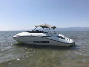 "2005 Seadoo Challenger trade for wake boat or 50"" side by side"