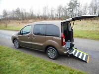 2013 Peugeot Partner Tepee 1.6 Hdi 5 Seats DISABLED WHEELCHAIR ACCESSIBLE WAV