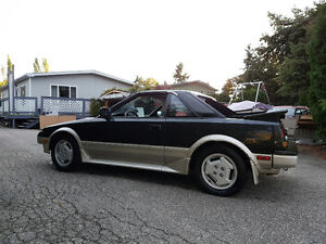 1986 Toyota MR2 Coupe (2 door)