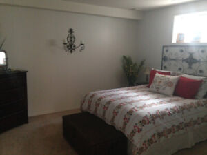 Bright 2 Bedroom Walk Out -Utilities  Inc -West Side -  May.1