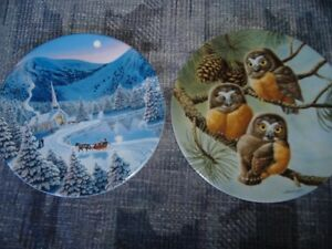 BRADFORD COLLECTABLE PLATES