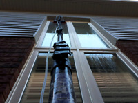 Window cleaning for with win