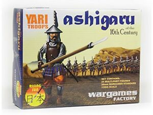 ASHIGARU YARI TROOPS 16TH CENTURY- WARGAMES FACTORY -1ST CLASS - JAPAN RONIN