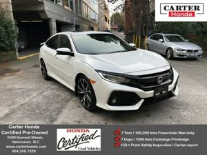 2018 Honda Civic Si + CERTIFIED + SPORTY + FUN! GREAT ON GAS!