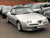2001 Alfa Romeo Spider 2.0 T.S. 16v Lusso, PHASE 2, MANUAL, NOT GTV