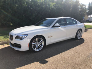 2013 BMW 750i X Drive Executive with M Sport.