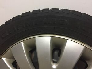 "Attn Volkswagon Drivers: 4 16"" snowtires with rims and VW hubcap St. John's Newfoundland image 6"
