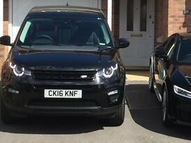 DISCOVERY SPORT HSE BLACK AUTO 10 months old. 5 year service pack. 4985 miles, as new.