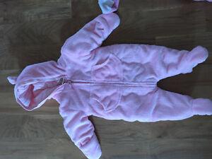 2 Infant Ski Suits