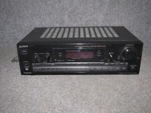 Sony 60 Watt/Ch Sound Receiver, With Phono. Speakers Available.
