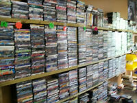 HUNDREDS OF NEW/USED PC & VIDEO GAMES-MOVIES-CDS