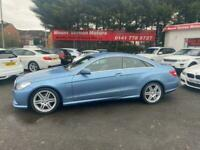 2010 Mercedes-Benz E Class 2.1 E250 CDI BlueEFFICIENCY Sport 2dr Auto Coupe Dies